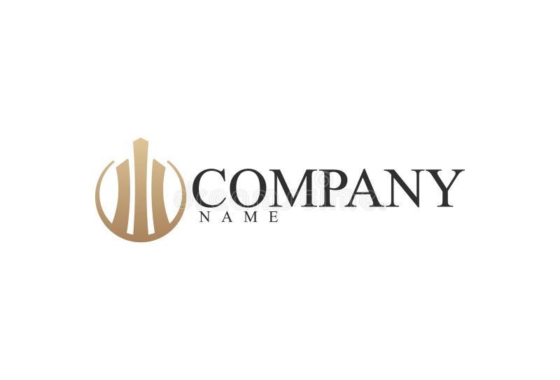 企业商标设计的传染媒介例证 向量例证