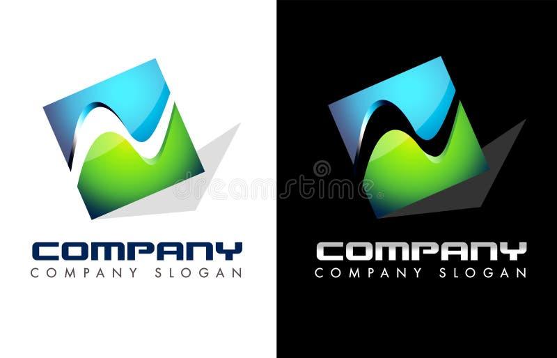 企业商标 向量例证