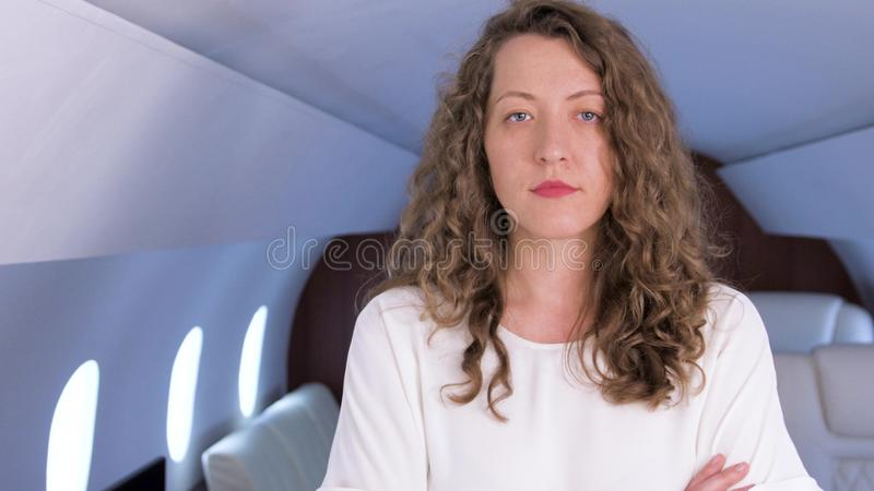 企业喷气机所有者 免版税库存照片