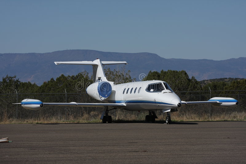 企业喷气机 免版税库存照片