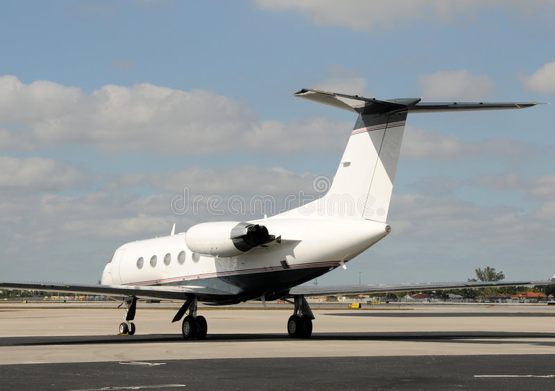企业喷气机 图库摄影