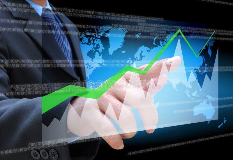 企业图形 免版税图库摄影