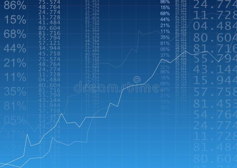 企业图形 向量例证