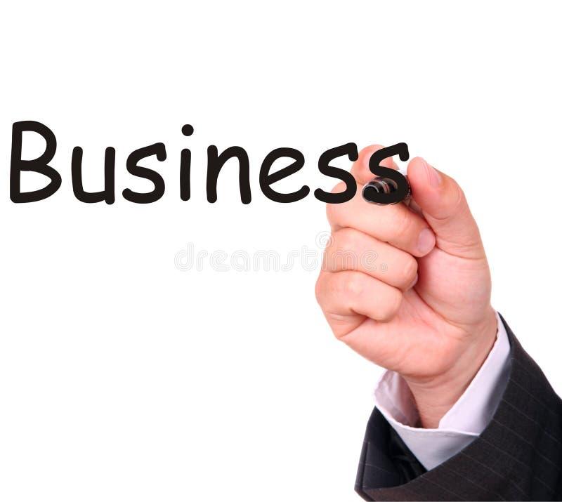 企业图画现有量字 免版税库存图片