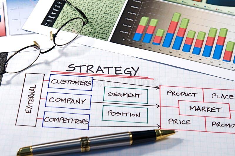 企业图表 免版税库存图片