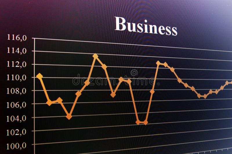 企业图表 免版税库存照片