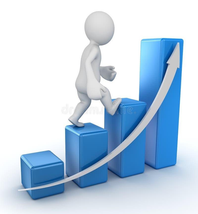 企业图 向量例证