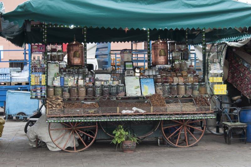 企业在马拉喀什 免版税库存照片