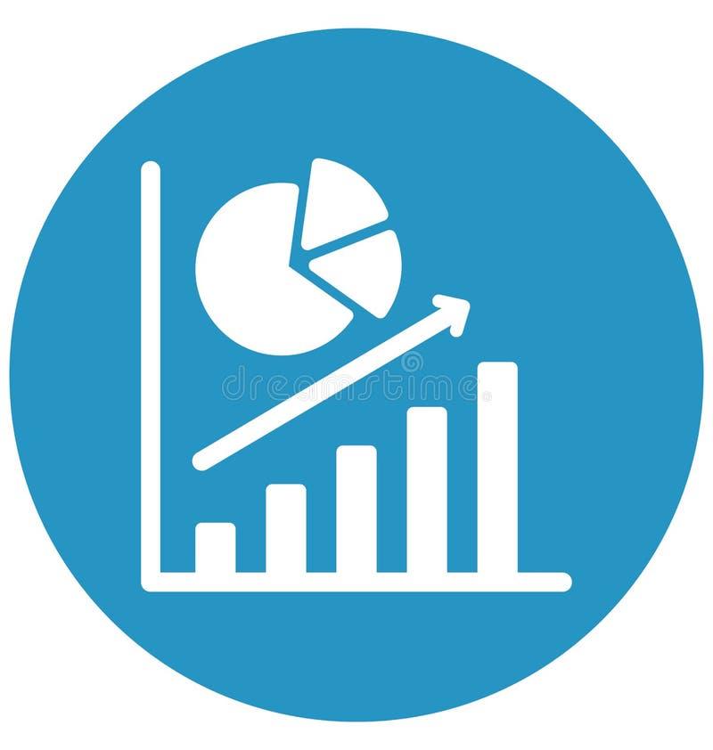 企业培养隔绝了可能容易地修改或编辑的传染媒介象 库存例证