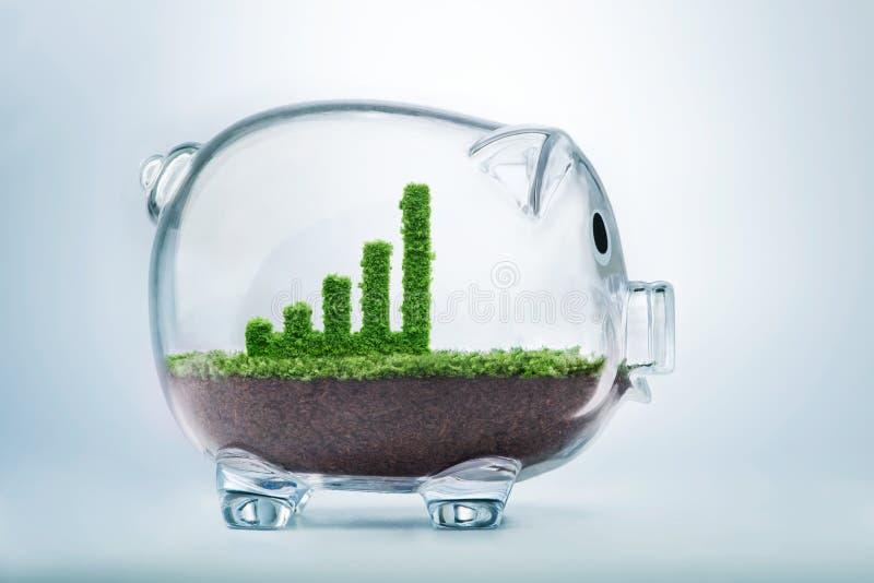 企业增长 免版税图库摄影
