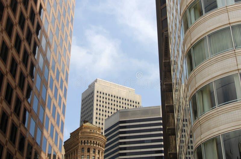 旧金山摩天大楼 库存照片