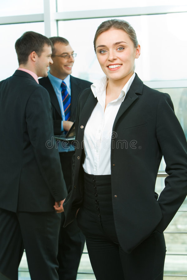 企业夫人 免版税库存照片