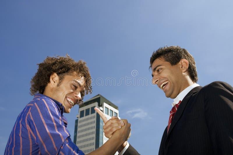 企业夫妇 图库摄影