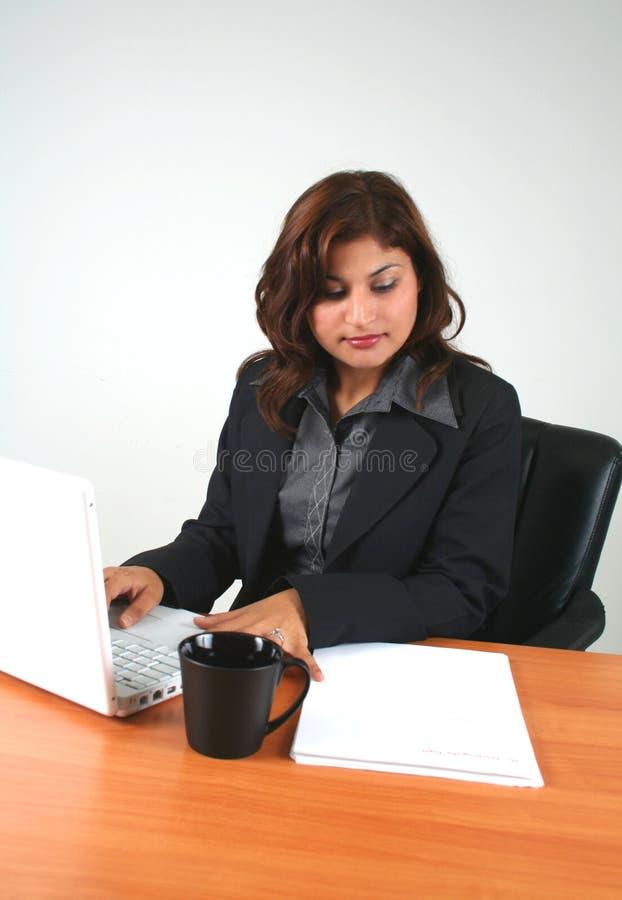 企业女孩 免版税库存图片