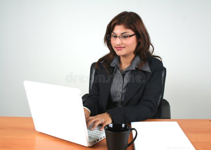 企业女孩 免版税图库摄影