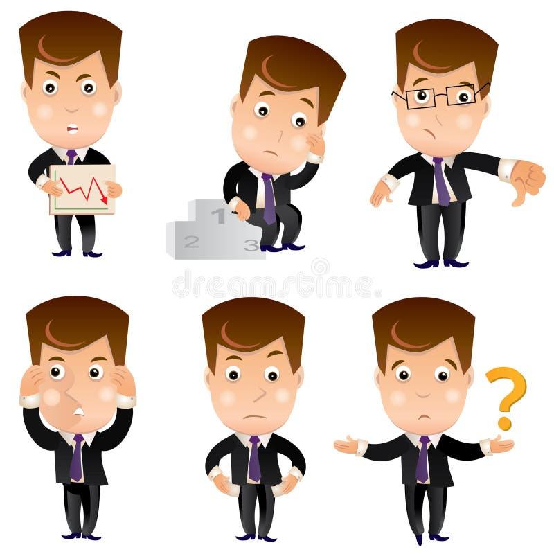 企业字符集 库存例证
