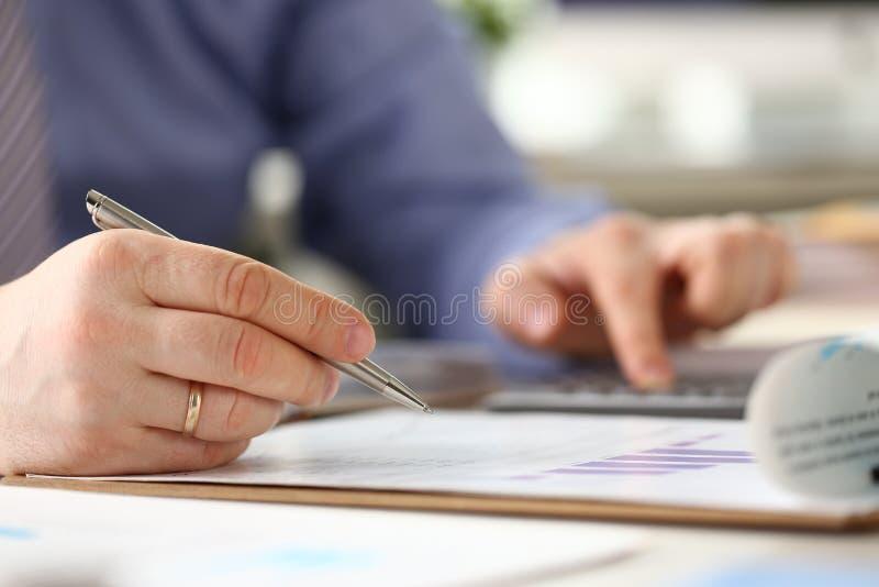 企业官僚认为的专门技术过程 库存图片
