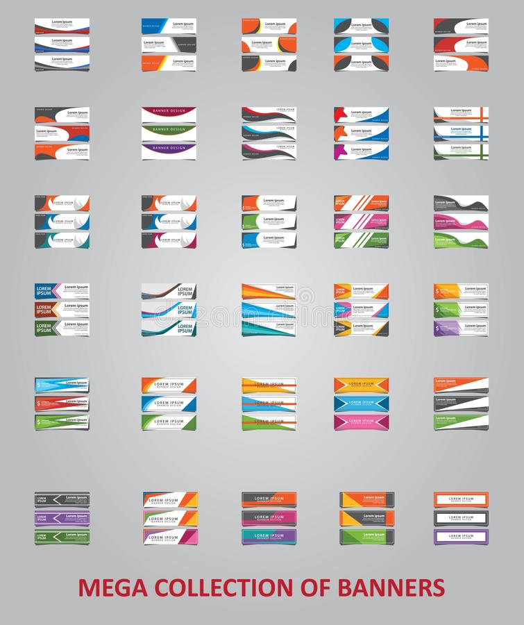 25企业小册子传染媒介设计,现代布局模板介绍的大收藏 皇族释放例证