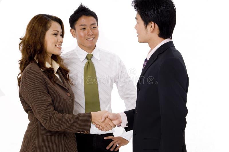 企业小组会议 免版税库存图片