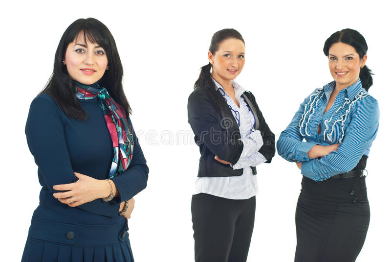 企业小组妇女 库存照片