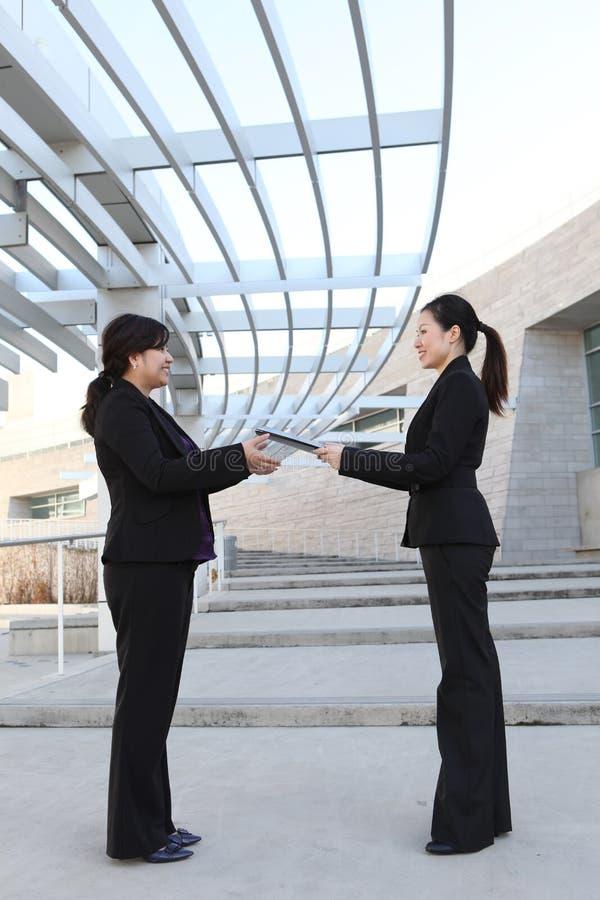 企业小组报表 免版税图库摄影