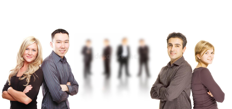 企业小组 免版税图库摄影