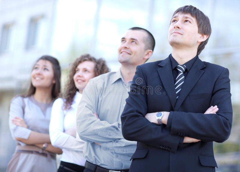 企业小组 库存图片