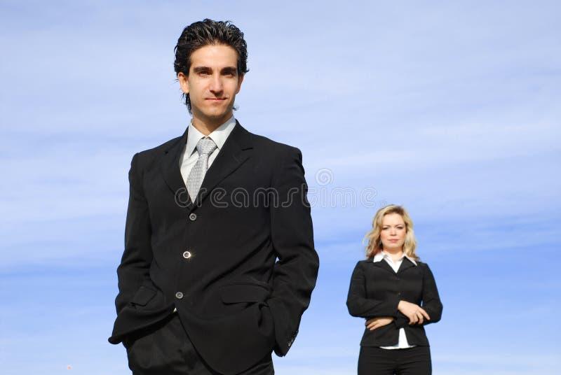 企业小组 免版税库存图片