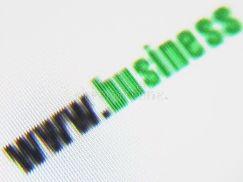 企业屏幕 库存图片