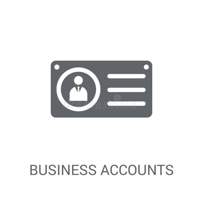企业帐户象  库存例证