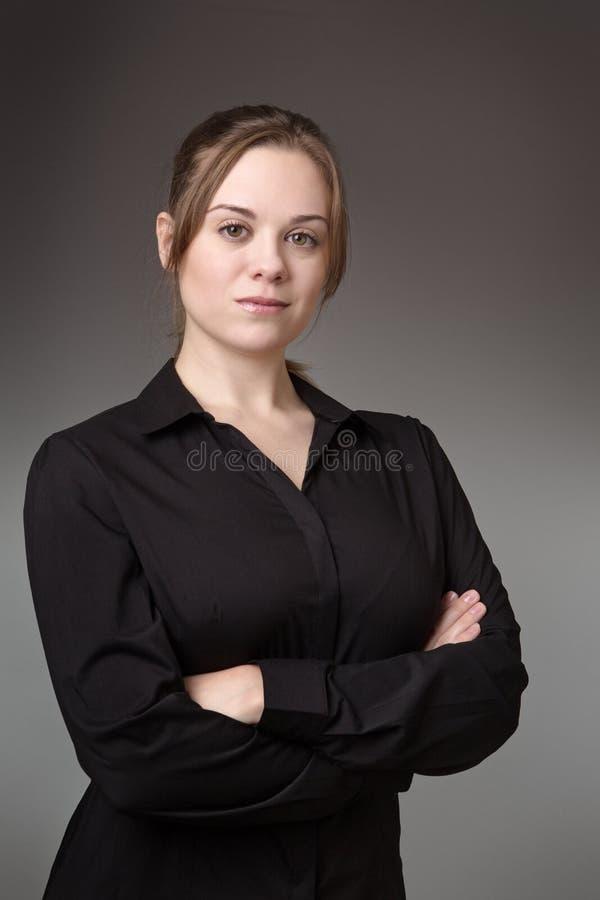 企业常设妇女 库存照片