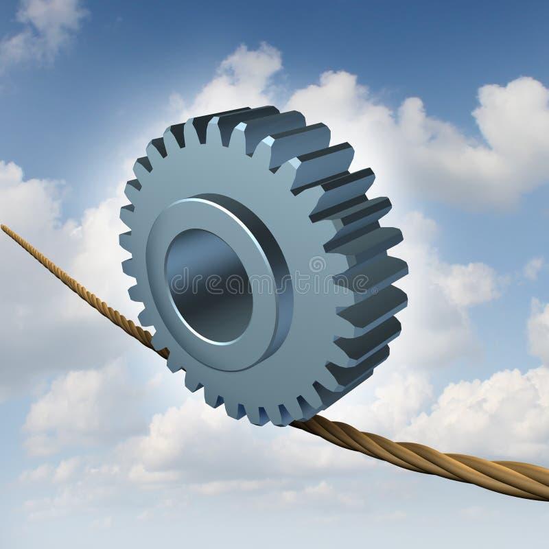 企业平衡 向量例证
