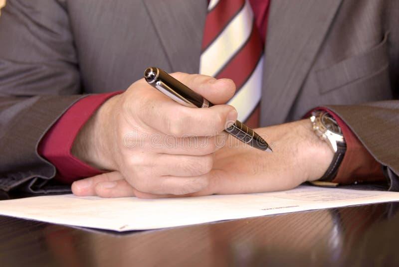 企业建议 免版税库存照片