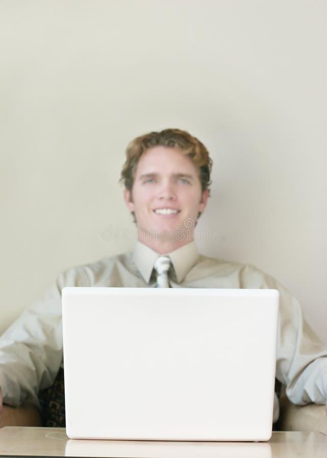 企业微笑 免版税图库摄影