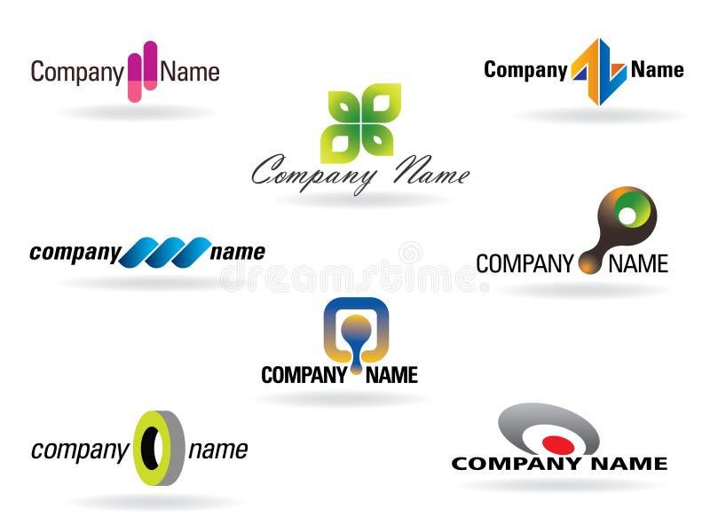 企业徽标 向量例证
