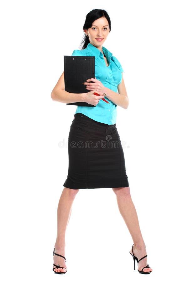 企业性感的妇女年轻人 库存图片