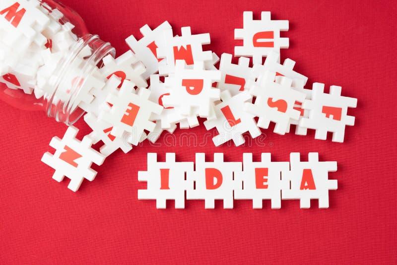 企业想法、创造性和想象力概念,丰盈whi 图库摄影