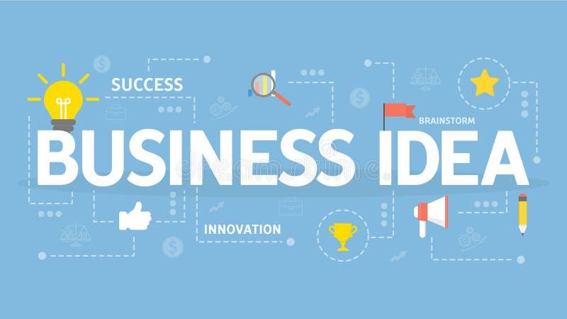 企业想法概念 向量例证