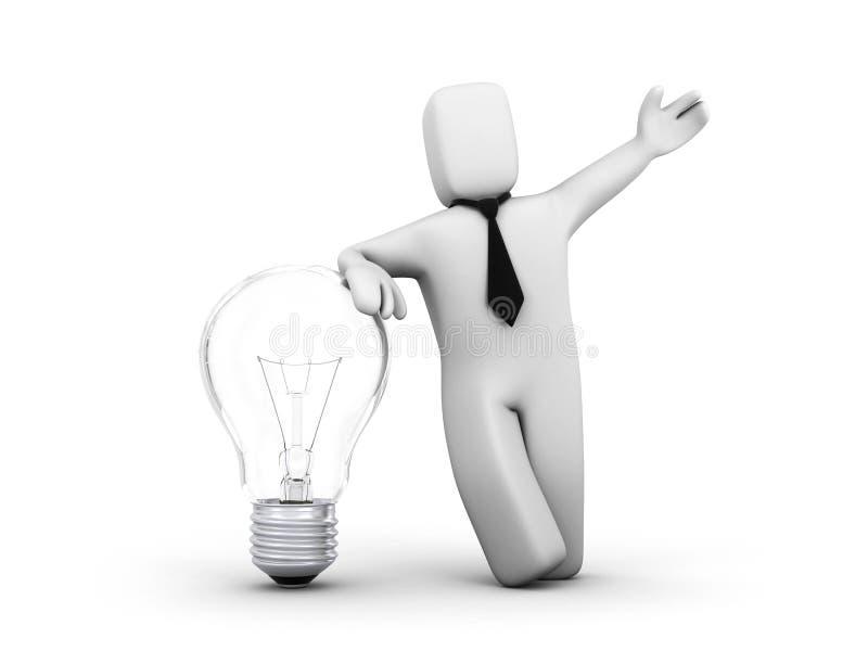 企业想法 库存例证
