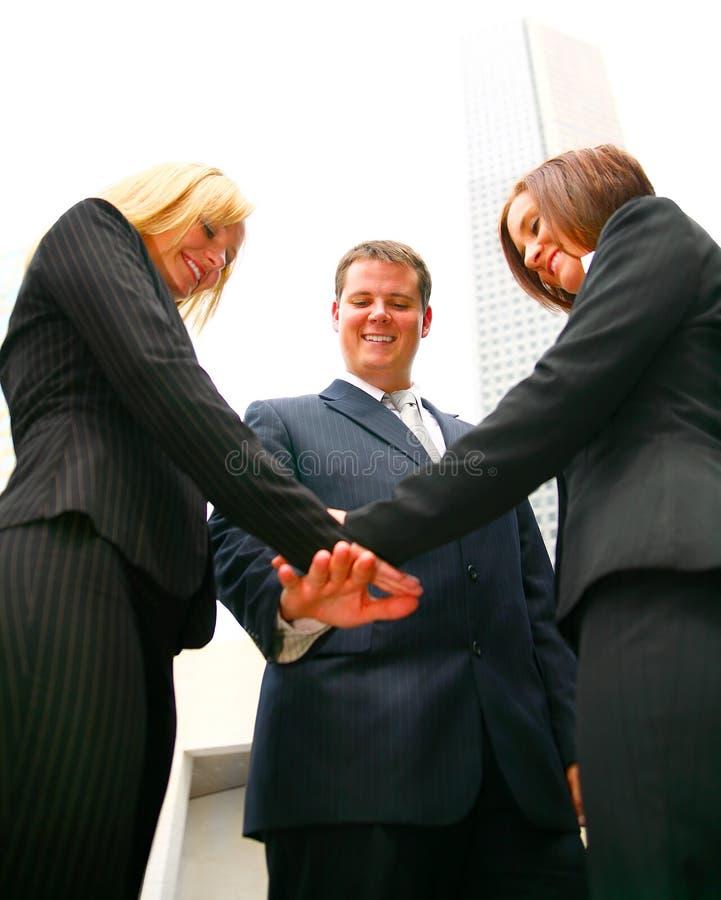 企业成功的小组 库存图片