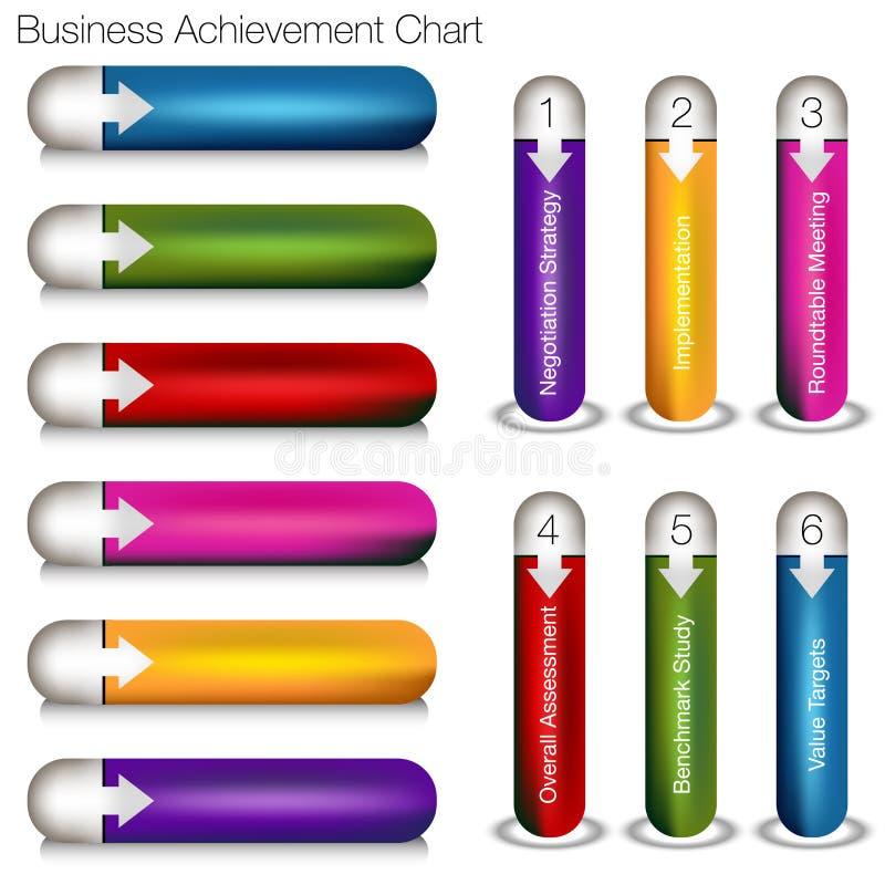 企业成就图 向量例证