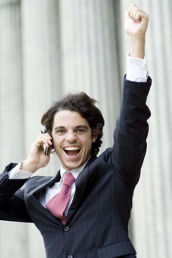 企业成就 免版税库存照片