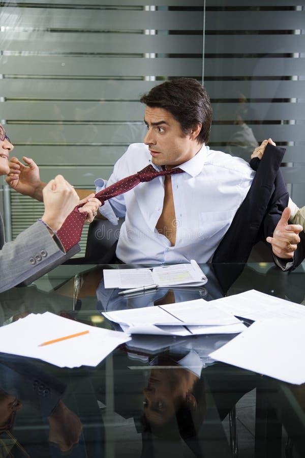 企业战斗 免版税库存照片