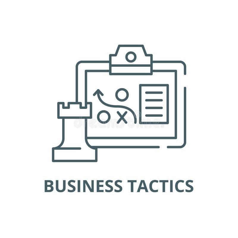 企业战术排行象,传染媒介 企业战术概述标志,概念标志,平的例证 皇族释放例证