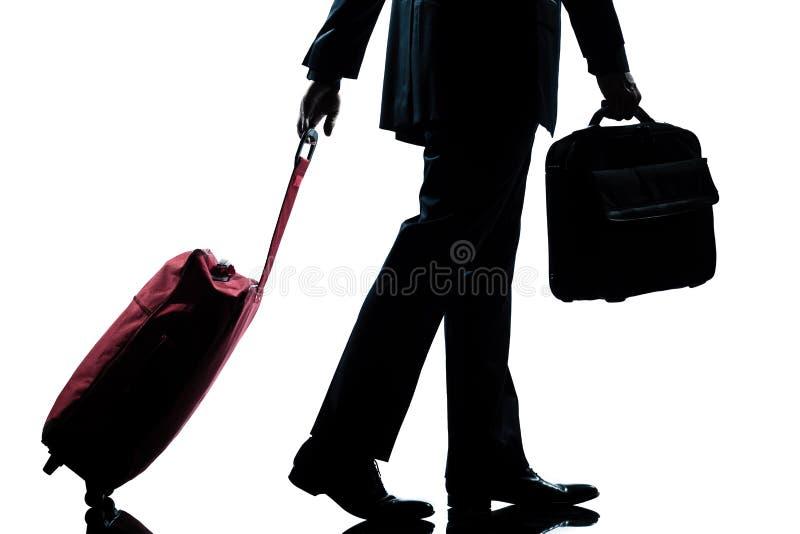 企业手袋人手提箱记录 库存照片