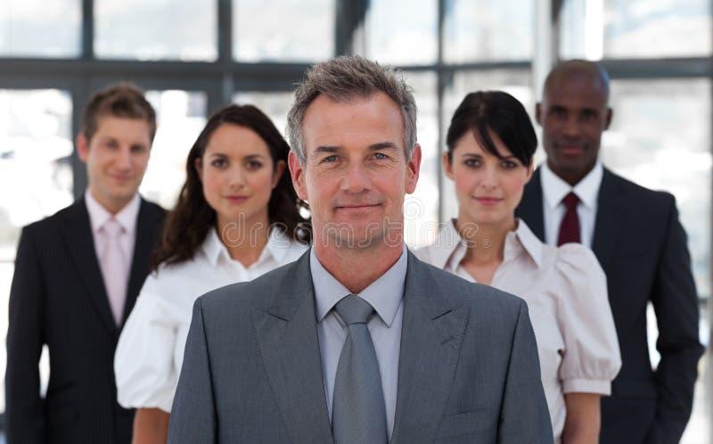 企业挂名负责人前辈小组 免版税库存图片