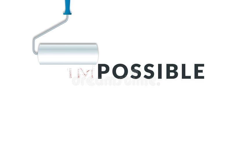企业挑战概念 向量例证
