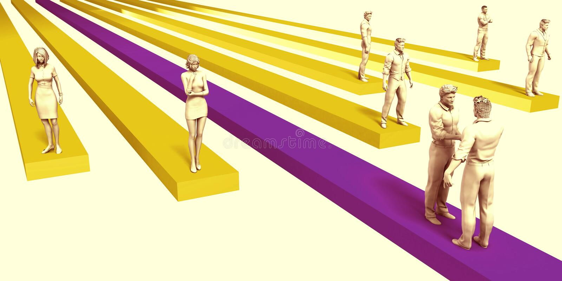 企业挑战 向量例证