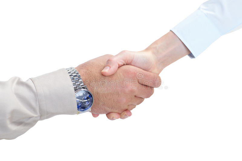 企业握手 图库摄影