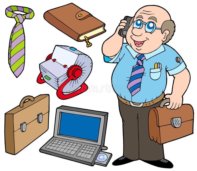 企业收集 向量例证